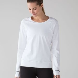 EUC Mind Over Miles Luxtreme Long Sleeve White